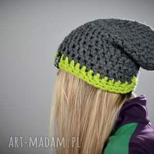 zielone czapki czapka inferior