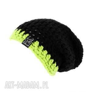 wełna czapki ✔ informacje ogólne: dwukolorowa czapka