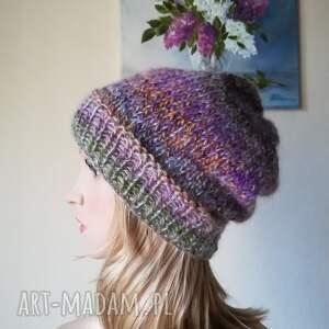 czapki czapka jedwab w pastelach