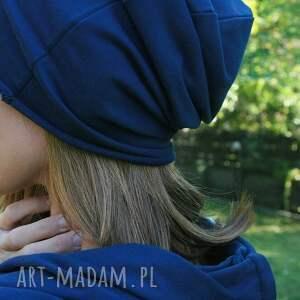 handmade czapki czapka jesienna z grubej dzianiny