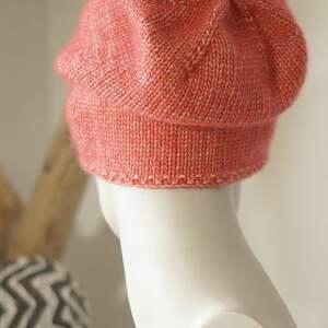 czapki bawełniana jesienna czerwona