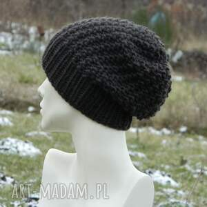 intrygujące czapki dziergana 48 kolorów 100% wool wybierz