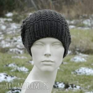 nietypowe czapki dziergana * 48 kolorów 100% wool wybierz