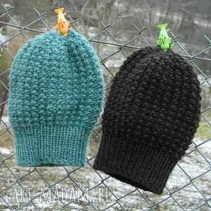 czapki dziergana 48 kolorów 100% wool wybierz
