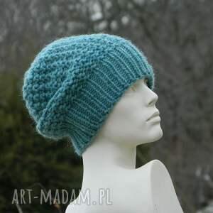 brązowe czapki wełniana * 48 kolorów 100% wool wybierz
