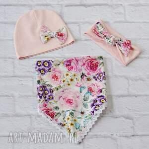 unikalne czapki czapka komplet dla dziewczynki: