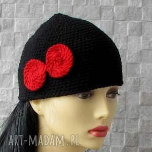niepowtarzalne czapki bonnet mała wiosenna czapka femme