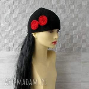 niepowtarzalne czapki wiosna mała wiosenna czapka bonnet femme