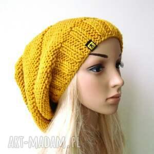 handmade czapki czapa lekka, obszerna czapka wykonana ręcznie