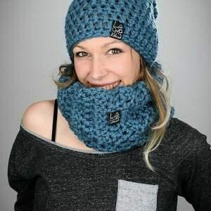 handmade czapki czapka na narty mono
