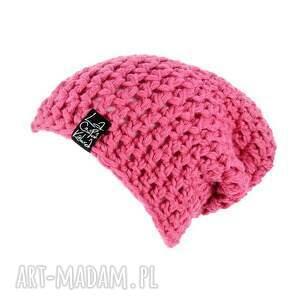 niepowtarzalne czapki wełna mono 08