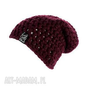 handmade czapki szydełko mono