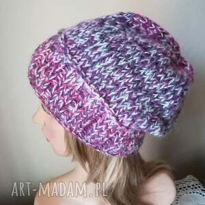 różowe czapki czapka mrożone jeżyny