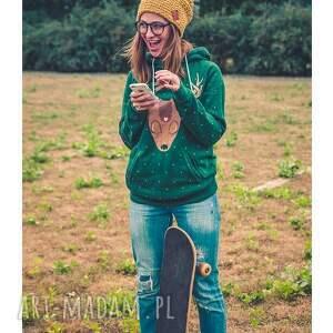 trendy czapki jesień neverland! pikantna musztarda