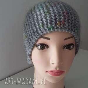 niepowtarzalne czapki czapka oryginalna, bardzo kobieca, zimowa