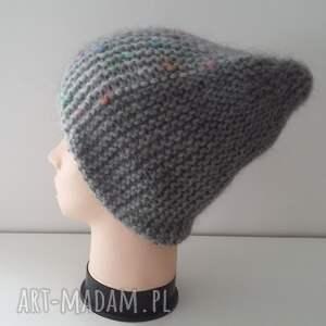 czapki zima oryginalna, bardzo kobieca, zimowa