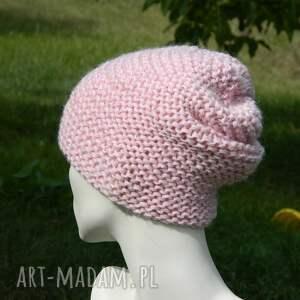 różowe czapki cekiny pastel pink - na prawo *