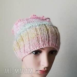 czapki czapka pastelowa impresja