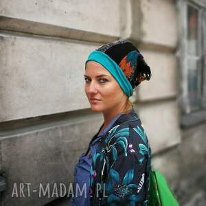 etno czapki patchworkowa kolorowa boho