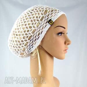 czapki ażur plażowa siatka na włosy