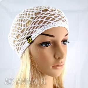 czapki bawełna plażowa siatka na włosy