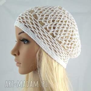 bawełna czapki plażowa siatka na włosy