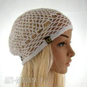 czapki plażowa siatka na włosy
