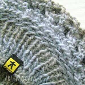 czapki czapka ażurowy beret