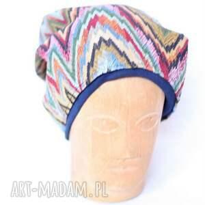 czapki czapka 60 62cm, nierozciągliwa, materiał