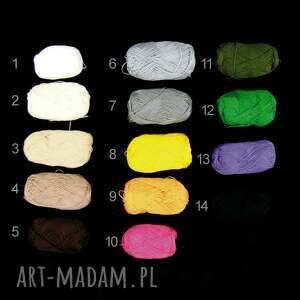 czapki ażur różne kolory do wyboru - czapeczka