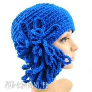 święta upominek ozdoba różne kolory - czapka z ozdobą