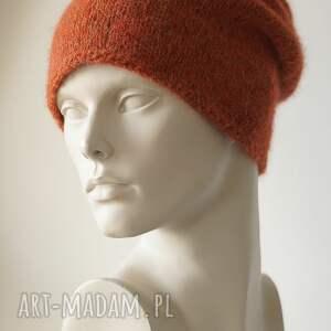 czapki rudy pomarańcz