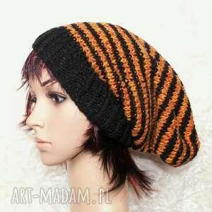 kolorowe czapki czapa rudzielec