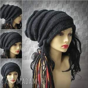 niesztampowe czapki czapka na dredy super slouchy oversize dla osób