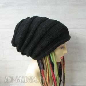 czapki czapka oversized super slouchy oversize dla osób