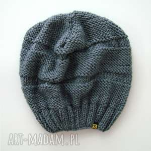unikalne czapki czapa szara