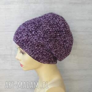 Czapki szydełkowe - czapka handmade