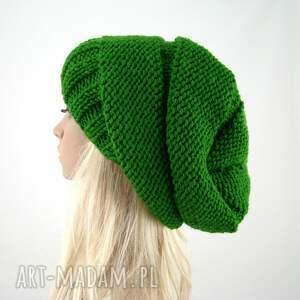 handmade czapki czapka trawiasta:) czapa