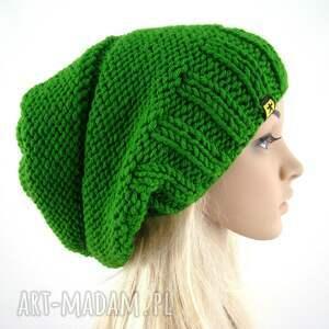handmade czapki czapa trawiasta:)