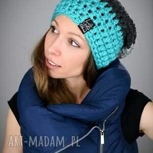 turkusowe czapki czapka triquence