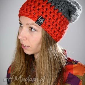 ręcznie zrobione czapka na zimę triquence