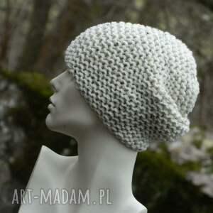 białe czapki tweedowa czapka przedstawiam kolejną swoją czapę - przaśna
