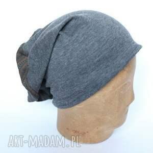 czapki czapka dzianinowa bez podszewki, 59 60cm