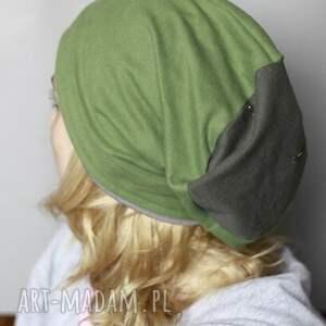 modne czapki dzianina unisex