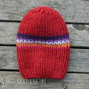 wełniana czapki czapa 100% wool