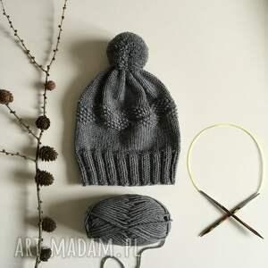 unikalne czapki czapka wełniana 100% merinowool