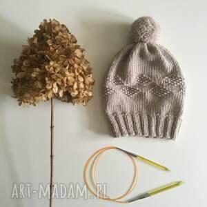 czapki wełna wełniana czapka 100% merynos