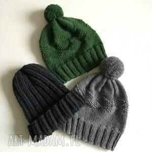 czapki wełna wełniana czapka 100% merinowool