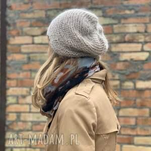 czapka czapki wiosenna kid mohair & alpaca