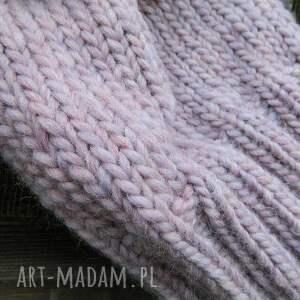 niepowtarzalne czapki pastel 100% wool * cudny kolor
